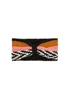 Missoni Striped knitted headband
