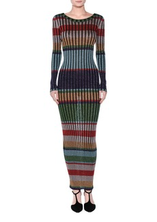 Missoni Striped Lamé Maxi Dress