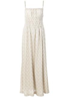 Missoni striped maxi dress - Grey