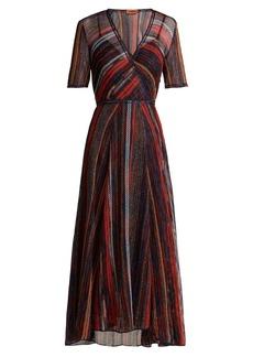 Missoni Striped metallic dress