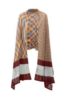 Missoni Striped pointelle scarf