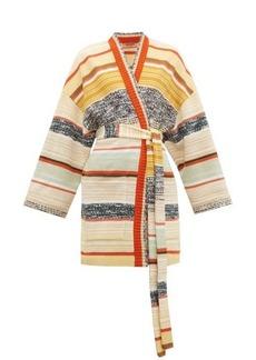 Missoni Striped wool-blend cardigan