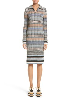 Missoni Tartan Plaid Knit Dress