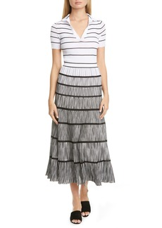 Missoni Tiered Midi Sweater Dress