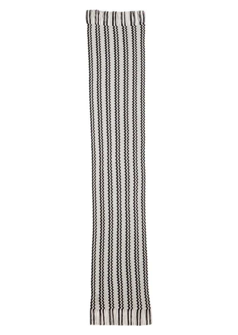 Missoni Two-Tone Zigzag Stripe Scarf