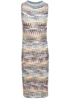 Missoni Woman Crochet-knit Dress Lavender
