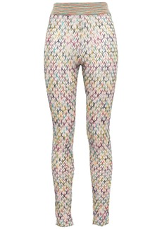 Missoni Woman Crochet-knit Leggings Cream