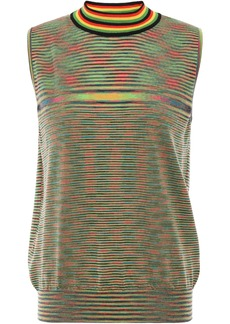 Missoni Woman Wool-jacquard Tank Green