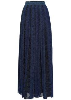 Missoni Woman Maxi Skirt Navy