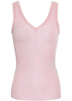 Missoni Woman Ribbed-knit Tank Baby Pink