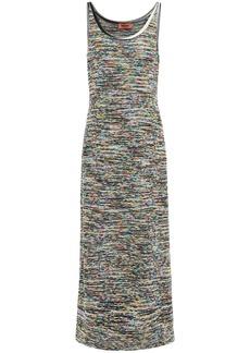 Missoni Woman Wool-blend Maxi Dress Multicolor