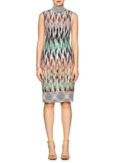 Missoni Women's Diamond-Pattern Wool-Blend Midi-Dress