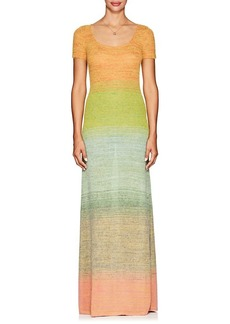 Missoni Women's Gradient Knit Fit & Flare Maxi Dress