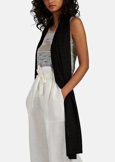 Missoni Women's Metallic Knit Scarf - Black