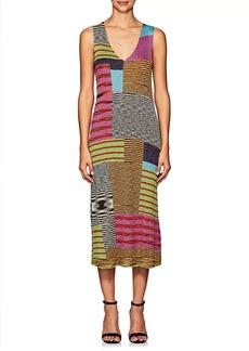 Missoni Women's Metallic Knit Sleeveless Midi-Dress