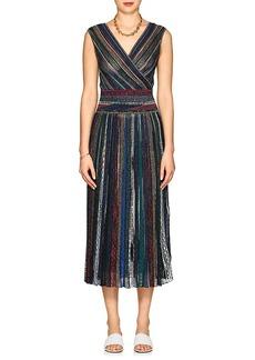 Missoni Women's Metallic Striped Maxi Dress