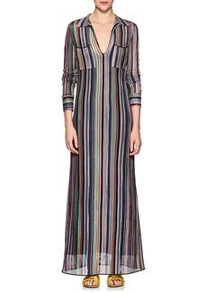 Missoni Women's Striped Knit Maxi Dress