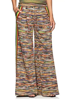 Missoni Women's Wool-Blend Wide-Leg Pants