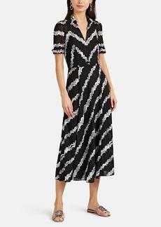 Missoni Women's Zigzag-Striped Mixed-Knit Dress