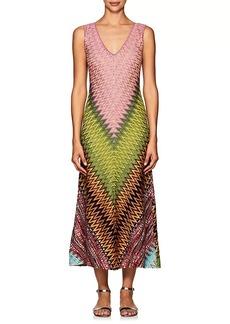 Missoni Women's Zigzag Wool-Blend Midi-Dress