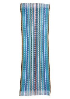 Missoni Zigzag Knit Wool Scarf