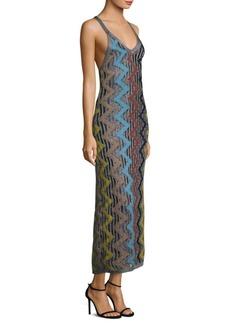 Missoni Zigzag Scoopneck Maxi Dress