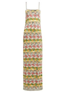 Missoni Zigzag wool-blend maxi dress