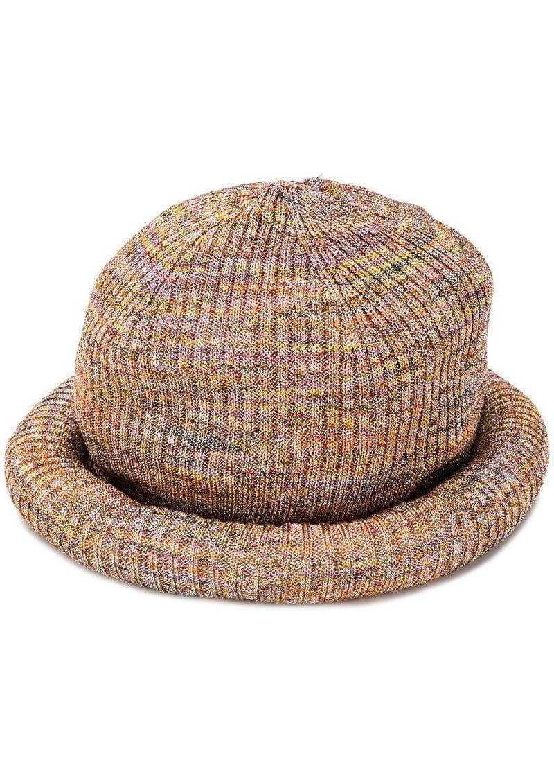 Missoni mottled weave beanie
