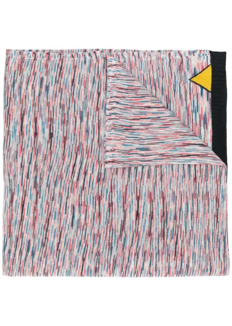 Missoni mottled weave scarf