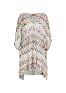 Missoni Multicolor Handkerchief Cover-Up