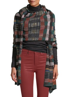 Missoni Multicolored Grid Wrap