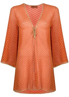 Missoni net overlay dress