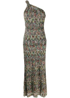 Missoni off the shoulder evening dress