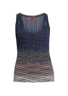 Missoni Ombre Knit Tank Top