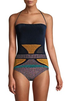 Missoni One-Piece Lurex Swimsuit