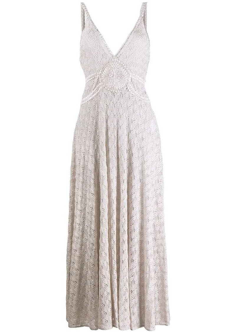 Missoni open knit dress