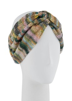 Missoni Open-Knit Knotted Headband