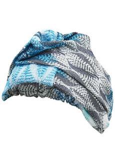 Missoni Pattern Knit Headband