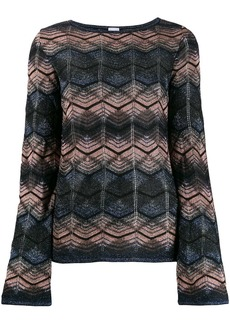 M Missoni patterned sweatshirt