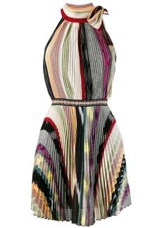 Missoni pleated halterneck dress