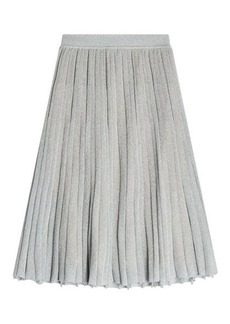 Missoni Pleated Skirt with Metallic Thread