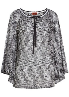 Missoni Printed Crepe Blouse