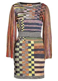 Missoni Printed Dress with Metallic Thread