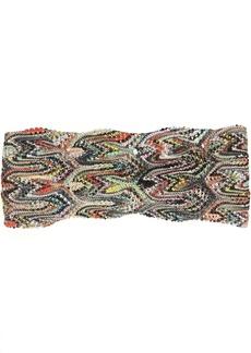 Missoni Printed Lace Knit Headband