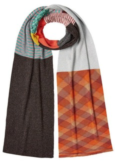 Missoni Printed Scarf with Metallic Thread