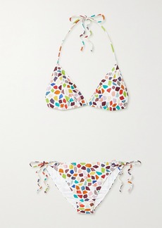 Missoni Printed Triangle Bikini