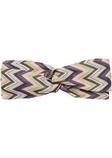 Missoni Printed Wave Knit Headband