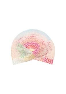 Missoni Printed Wave Knit Turban Hat