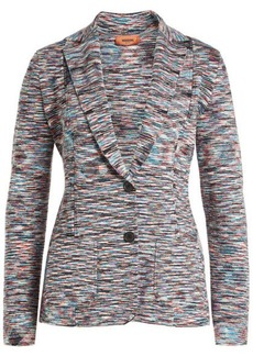 Missoni Printed Wool Blazer