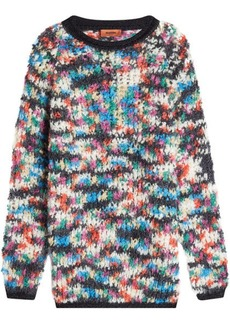 Missoni Pullover with Wool and Mohair